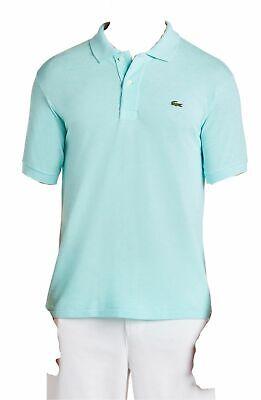 $548 Lacoste Men Classic Fit Green Short Sleeve Pique Polo Croc Logo Shirt 7/2XL