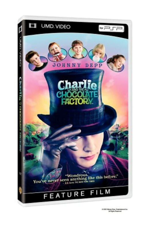 Charlie And The Chocolate Factory UMD For PSP Brand New 9Z