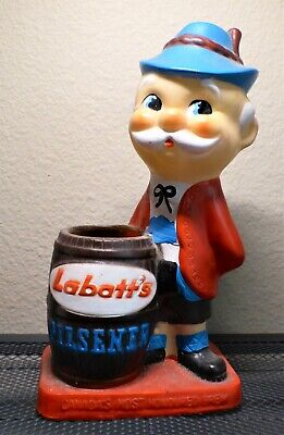 LABATT'S Pilsner MAN Canadian Swizzle Stick / Pencil Holder / barware item