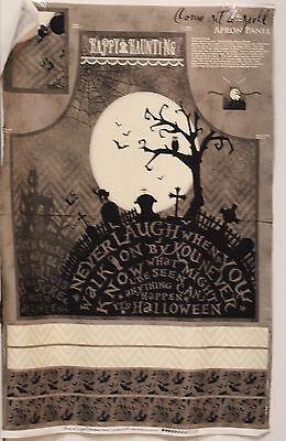 Halloween Come In A Spell Apron Panel by Wilmington Prints btp](Wilmington Halloween)