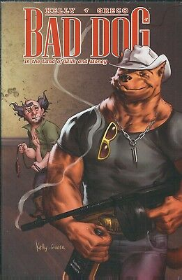 "BAD DOG: N"" THE LAND OF MILK & MONEY"" (2014) SOFTCOVER TPB MARVEL COMICS V/F+"