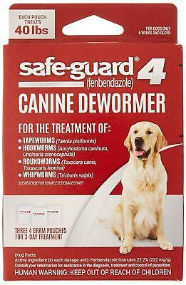 Desparasitante Canino Safe-guard 8 En 1 Para Perros Grandes