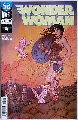 Wonder Woman #42 Vol 5 Rebirth Frison Variant - DC Comics - J Robinson - Merino