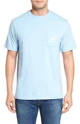 Vine Grafiken (Vineyard Vines Bemalt Permit Grafik Taschen T-Shirt Blau Groß)