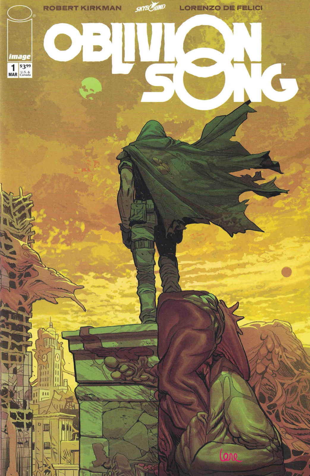 Oblivion Song By Kirkman  #1 Image Comic Book 2018 Pink Signature Variant Jj