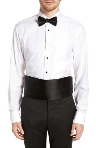 Nordstrom Silk Black Cummerbund 3503