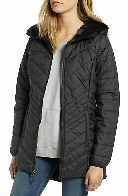 Women's The North Face Mossbud Reversible Insulated Parka Size X-Small Black