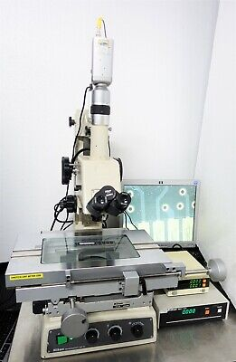 Nikon Mm-22 Measurescope Measuring Microscope W Sc-112 Digital Counter Mc-101