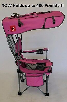 NEW, HOT PINK Renetto 3.5 HEAVY DUTY,  Original Canopy Chair, mesh insert - Hot Pink Chair