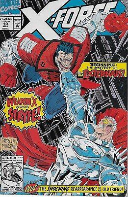 X-Force No.10 / 1992 Rob Liefeld Fabian Nicieza & Mark Pacella