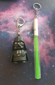 Darth Vader and Light Saber Jewelry - Necklace, Keychain, Car Mudjimba Maroochydore Area Preview