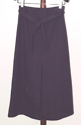 VTG 1970s Long Purple Textured Hippie Retro Maxi Skirt JCPenney Fashions USA