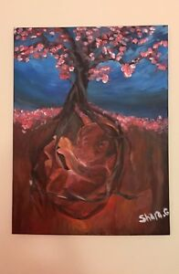 """""""Spring"""" : First Nation Painting"""