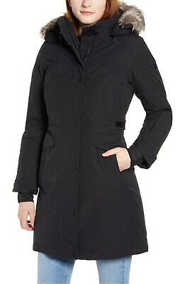 NWT THE NORTH FACE WOMEN'S TREMAYA GOOSE DOWN PARKA COAT BLACK SMALL