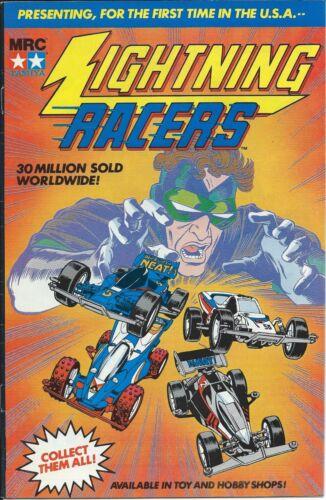 SUPER RARE DC LIGHTNING RACERS GIVEAWAY PROMO COMIC 1990 SLICK COVER VARIANT