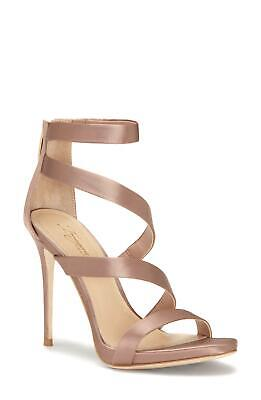 Imagine Vince Camuto Women's Dalles Satin Dress Pumps Warm Taupe