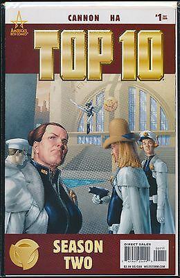 Top 10 Season Two #1 (Dec 2008, DC) America's Best Cannon Ha