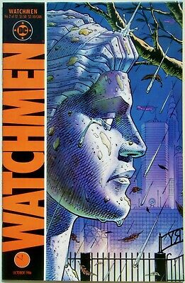 Watchmen #2 (of 12) (Oct. 86') VF+ NM- (9.0) Moore Scripts & Gibbons Cover & Art