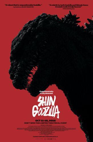 GODZILLA RESURGENCE aka Shin Godzilla (2016) Movie Poster