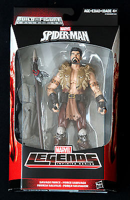 "KRAVEN HUNTER MARVEL LEGENDS INFINITE SERIES SPIDER-MAN HASBRO 6"" ACTION FIGURE"