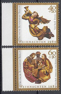 Berlin 1989 Mi. Nr. 858-859 Postfrisch mit Rand (24375)