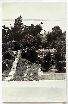 - Cardiff Hill, Hannibal, Mo, Kodak Paper Real Photo Postcards A423