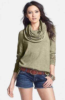 NWT Free People Cowl Neck Sweater XS S XSmall Small