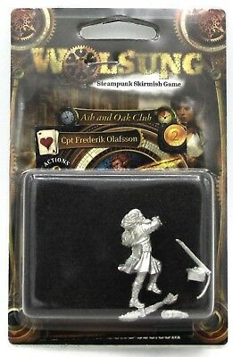 Wolsung W00140 Captain Frederik Olafson (Ash and Oak) Warrior Micro Art Studio
