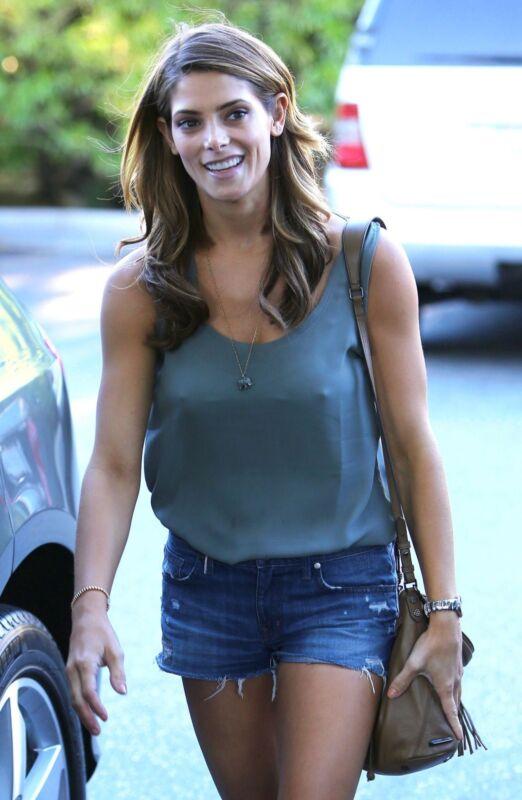 Ashley Greene Walking On The Street 8x10 Photo Print