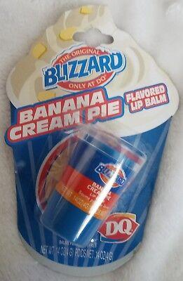 Dairy Queen Blizzard Lip Balm Banana Cream Pie Rare