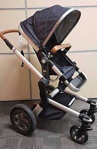 NEW Ex-Display Joolz Day Quadro Denim Pram Seat & BN Carry Cot Melton Melton Area Preview