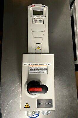 ABB ACH550-PDR-012A-4, HVAC