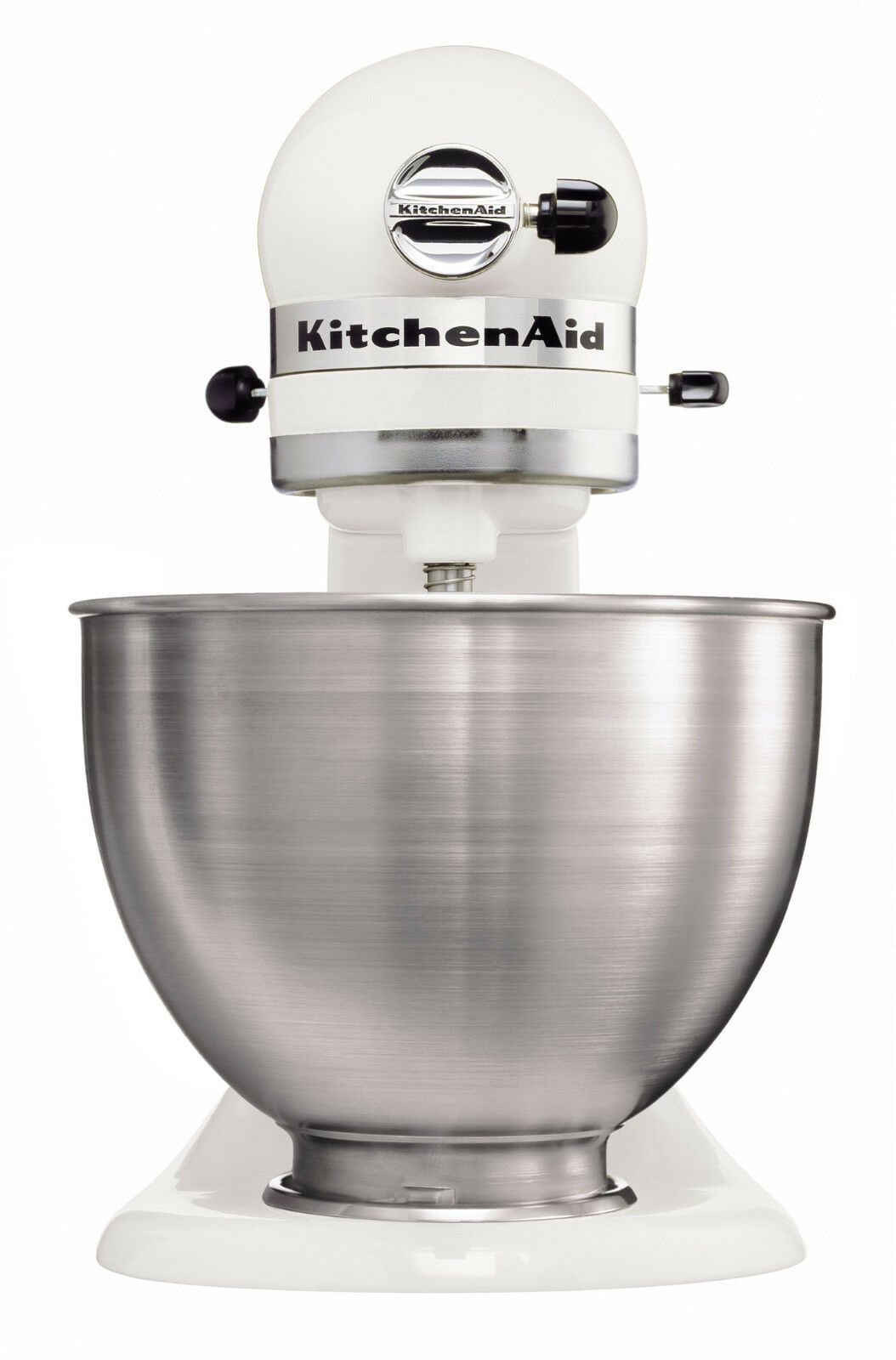kitchenaid k chenmaschine 5k45ssewh classic 275 watt nur in weiss eur 289 00 picclick de. Black Bedroom Furniture Sets. Home Design Ideas
