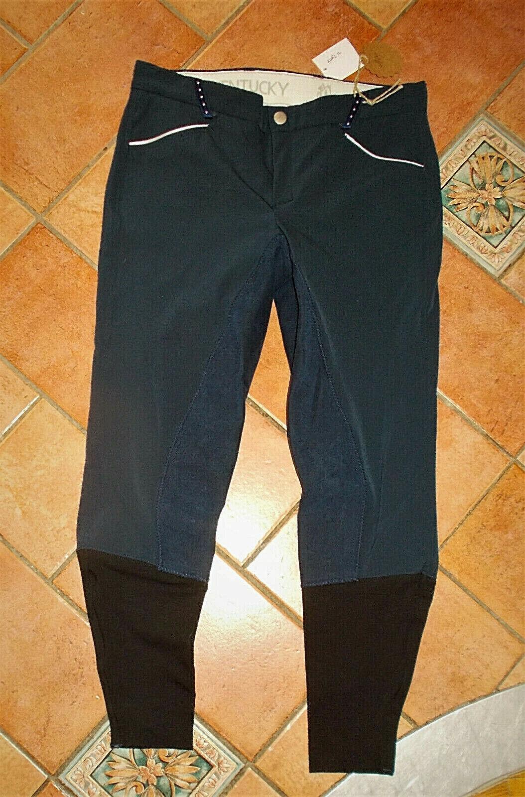 Kentucky Reithose Vollbesatz, blau, Gr. 40, nie getragen