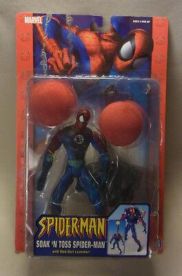 Marvel Comics Toy Biz Action Figur SPIDERMAN Soak´n Toss Spidey 2005 OVP