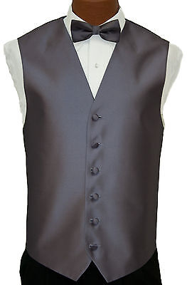 4XL Mens After Six Aries Lavender Purple Fullback Wedding Tuxedo Vest & Tie Set After Six Aries Vest