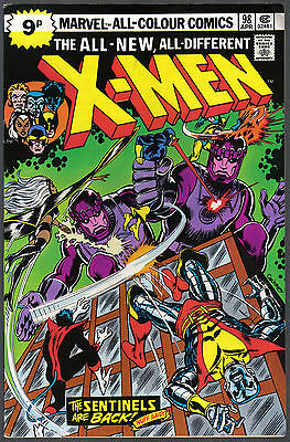 THE X-MEN ISSUE NUMBER 98 PRODUCED BY MARVEL COMICS