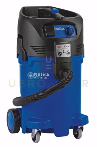 Nilfisk Attix 50, 12 gallon vacuum w/10