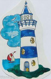 Elas-Fensterbilder-Leuchtturm-in-blau