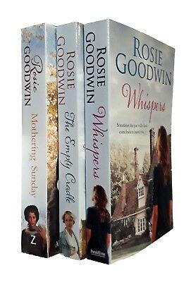 Rosie Goodwin 3 Books Romance Family Saga - Mothering Sunday Whispers New