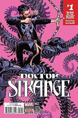 DOCTOR STRANGE #12 (2016) 1ST PRINTING BAGGED & BOARDED