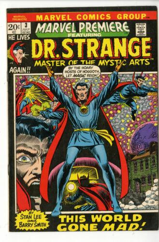 MARVEL PREMIERE #3 Dr. Strange- THIS WORLD GONE MAD!
