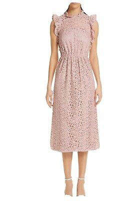 New Kate Spade flora lace ruffle dress Sz2