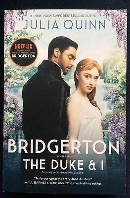 BRIDGERTON Book 1 THE DUKE & I by Julia Quinn * Paperback * Netflix TV Tie-In