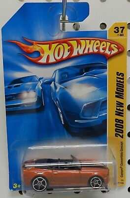 COPPER BRONZE 037 37 2008 08 CONVERTIBLE CONCEPT CHEVY CAMARO HW HOT WHEELS for sale  Bainbridge
