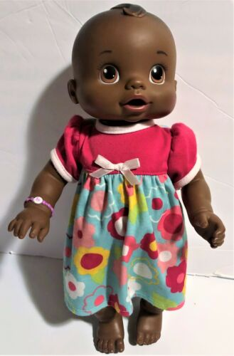 2006 Baby Alive Wets N Wiggles Sound and Moves Anatomically Correct Girl