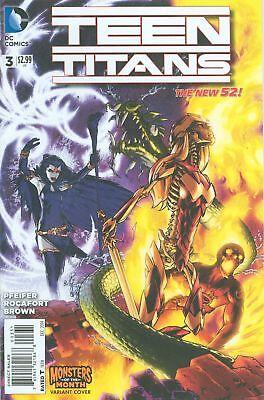 Teen Titans Monsters Var Ed VF/NM