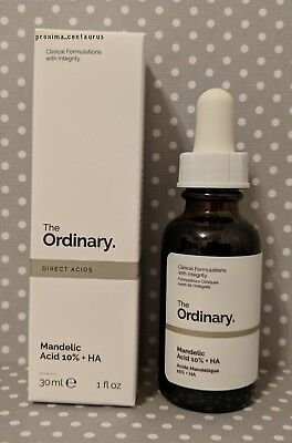 The Ordinary   Mandelic Acid 10    Ha  New  1 Fl Oz
