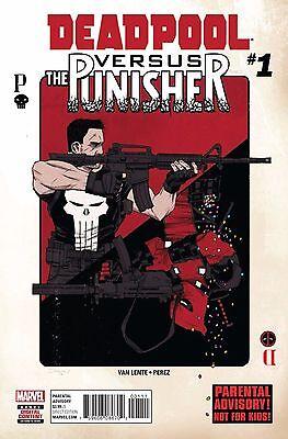 DEADPOOL VS PUNISHER #1 (OF 5) Regular Marvel Now Comics NM 4/12/2017