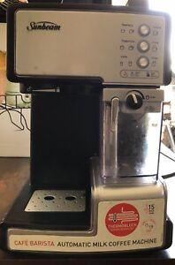 Sunbeam barista coffee machine gumtree australia free local sunbeam barista coffee machine gumtree australia free local classifieds fandeluxe Image collections